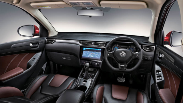 interior dashboard DFSK glory 580