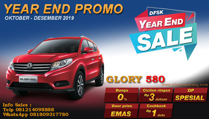 Promo DFSK Glory 580 Bandung 2019